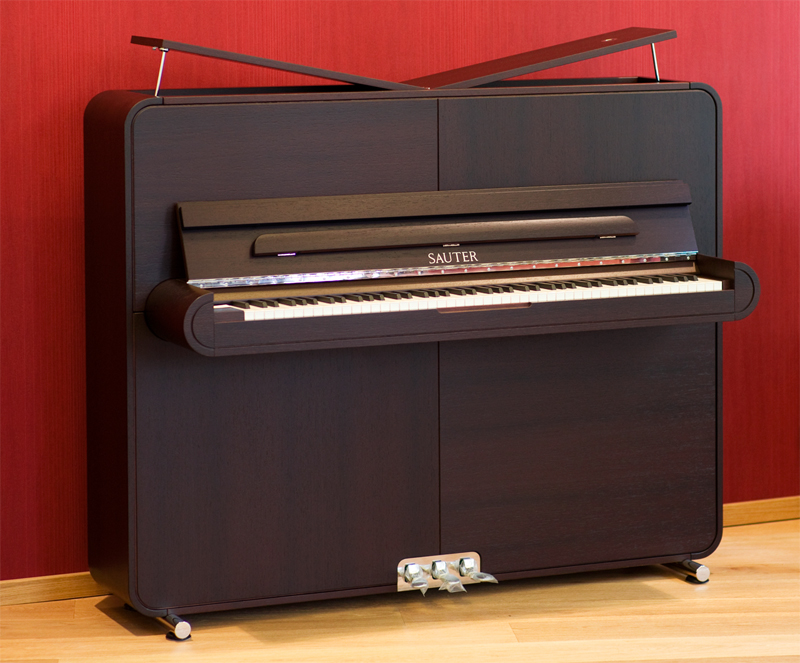 Sauter-Klavier Mod. Rondo wenge satiniert