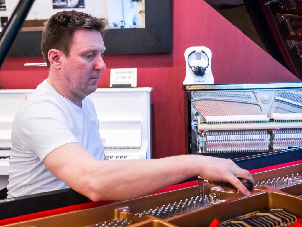 Klavierstimmung von René George in Berlin