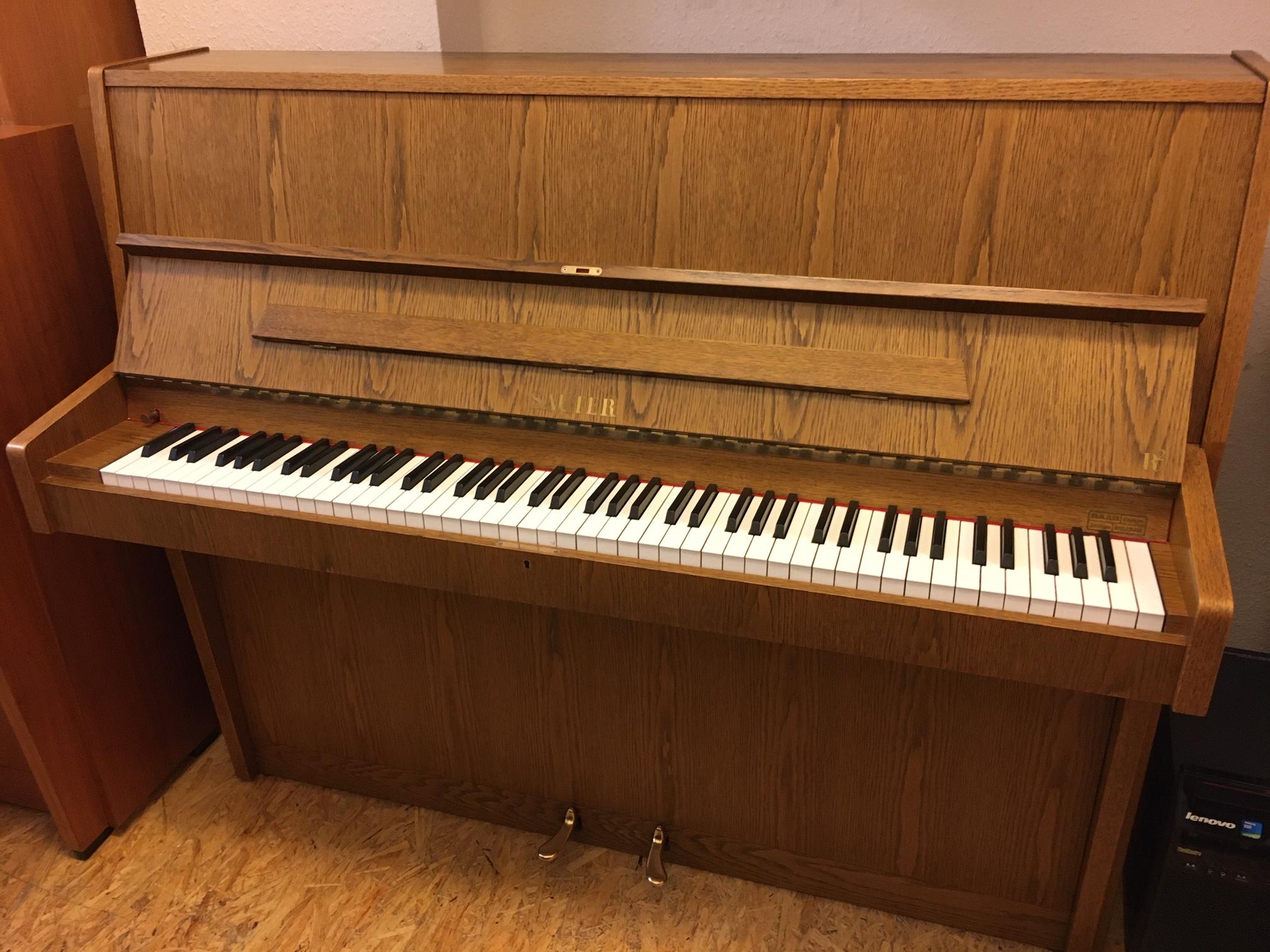 Sauter Klavier Modell 118 Eiche