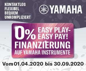 Yamaha Null Prozent Finanzierung bis 30.09.2020