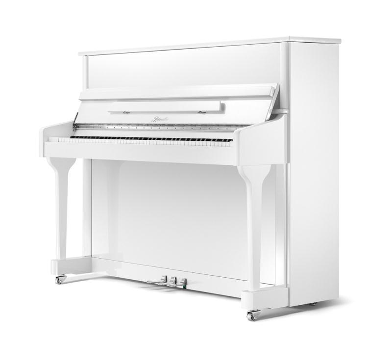 klavier ritmueller 118 classic weiss poliert